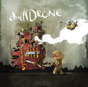 chuffDRONE CD cover